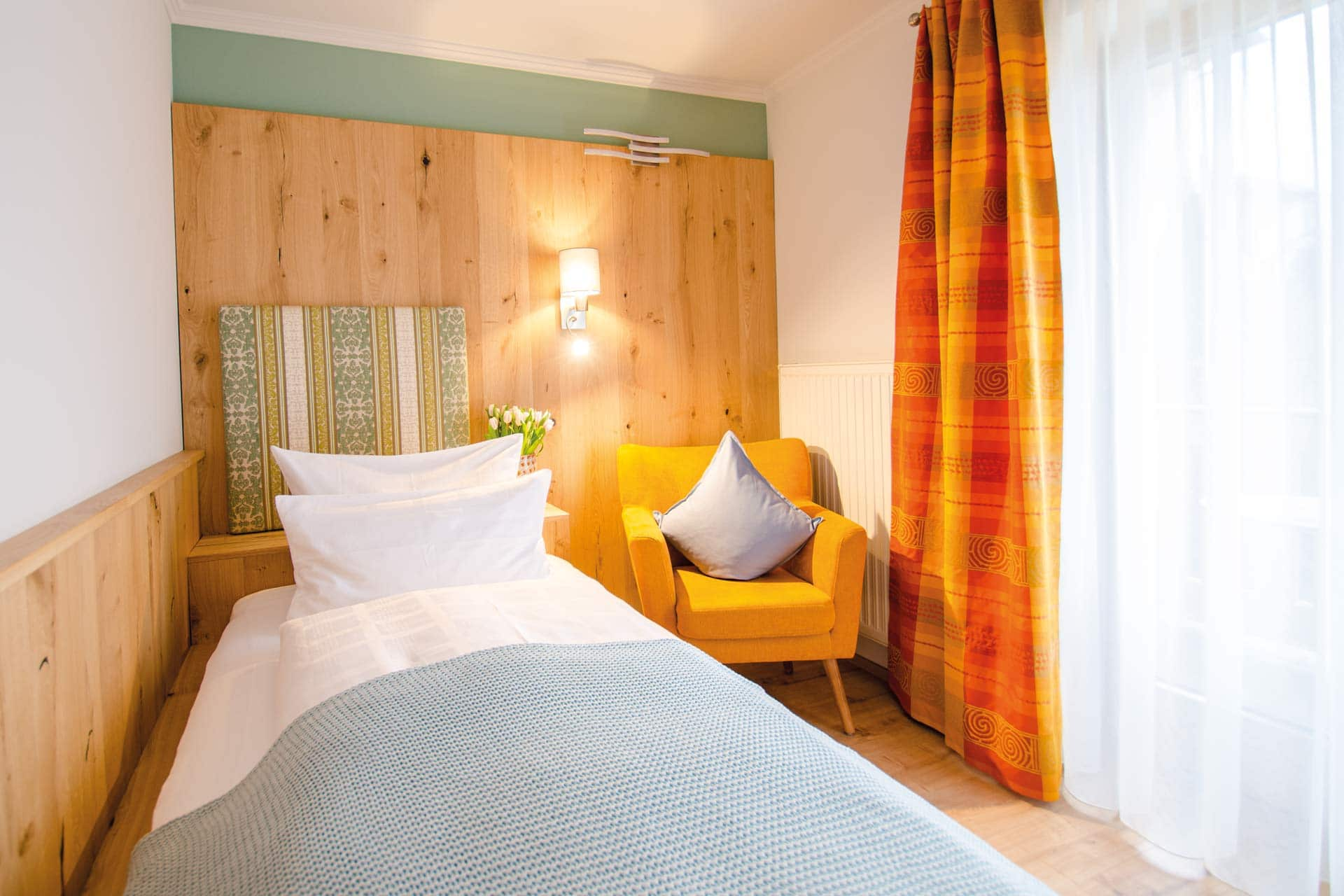 Glashotel in Zwiesel - Einzelzimmer Domain