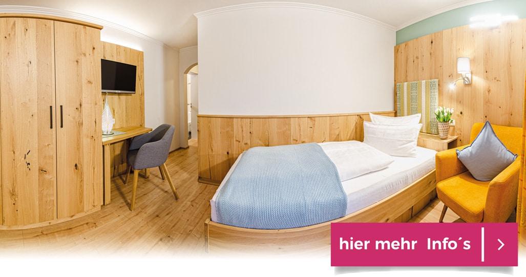 Einzelzimmer Glashotel Bayerischer Wald