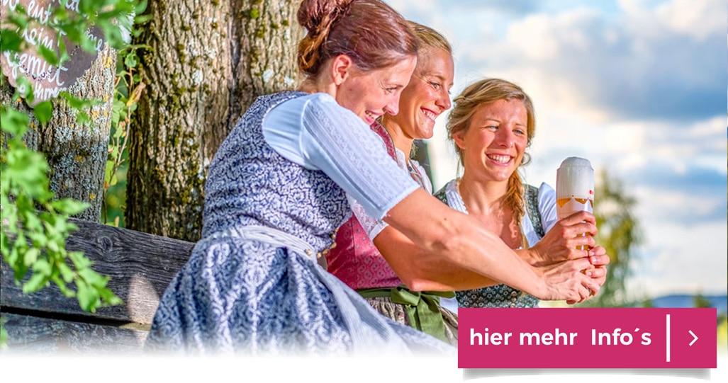 Freundschafts Woche im Glashotel Bayern Freunde verbinden